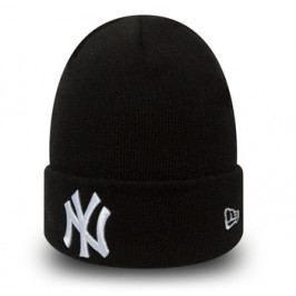 Zimní čepice New Era League Essential Cuff MLB New York Yankees Black/White