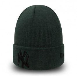 Zimní čepice New Era League Essential Cuff MLB New York Yankees Dark Green/Black