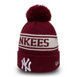 Zimní čepice New Era Seasonal Jake MLB New York Yankees Cardinal/White