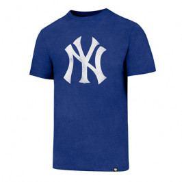 Pánské tričko 47 Brand Club Tee Knockaround MLB New York Yankees Royal Blue