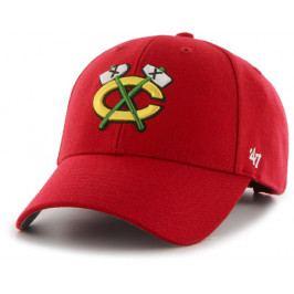 Kšiltovka 47 Brand MVP NHL Chicago Blackhawks červená