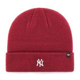 Zimní čepice 47 Brand Centerfield Cuff Knit MLB New York Yankees Cardinal Red