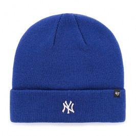 Zimní čepice 47 Brand Centerfield Cuff Knit MLB New York Yankees Royal Blue