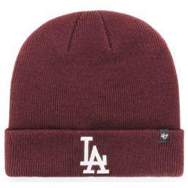 Zimní čepice 47 Brand Raised Cuff Knit MLB Los Angeles Dodgers Maroon