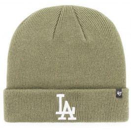Zimní čepice 47 Brand Raised Cuff Knit MLB Los Angeles Dodgers Moss