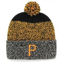 Zimní čepice 47 Brand Static Cuff Knit MLB Pittsburgh Pirates