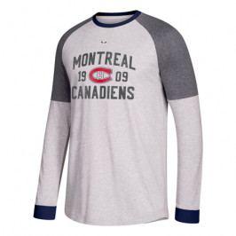 Pánské tričko s dlouhým rukávem adidas Crew NHL Montreal Canadiens