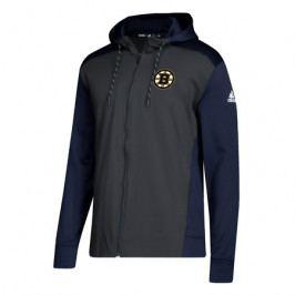 Pánská mikina na zip s kapucí adidas NHL Boston Bruins