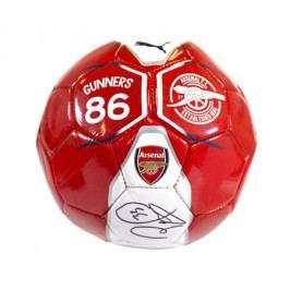 Míč Puma Fan Mini Arsenal FC s originálním podpisem Petra Čecha