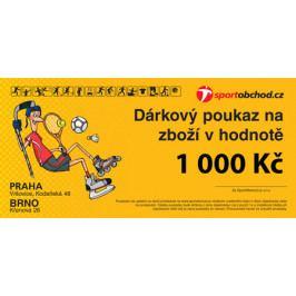Elektronická dárková poukázka v hodnotě 1 000 Kč