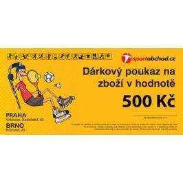 Elektronická dárková poukázka v hodnotě 500 Kč