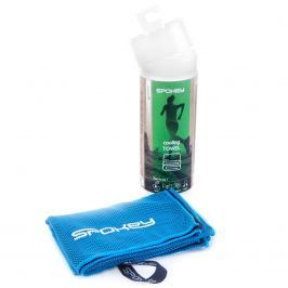 Spokey COOLER Chladící rychleschnoucí ručník 31x84 cm, modrý v plastic bag - klient