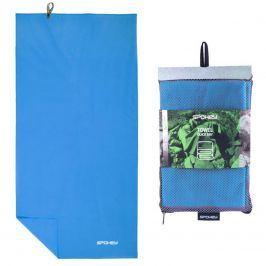 Rychleschnoucí ručník SPOKEY Sirocco L 50 x 120 cm, tyrkysový