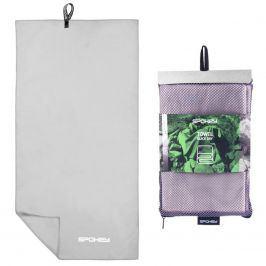 Rychleschnoucí ručník SPOKEY Sirocco L 50 x 120 cm, šedý