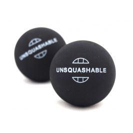 Squashové míčky UNSQUASHABLE - 2ks - 2x žlutá tečka