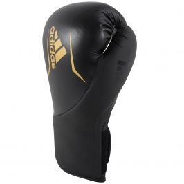 Boxovací rukavice ADIDAS Speed 200 - černo-zlaté 12oz.