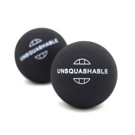 Squashové míčky UNSQUASHABLE - 2ks - modrá tečka
