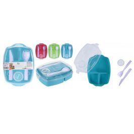 Dóza-box na jídlo Excellent Houseware lunch - modrý