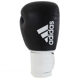 Boxovací rukavice ADIDAS Hybrid 100 - černo-bílé 12oz.