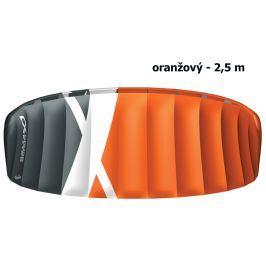 Kite komorový CROSS Boarder oranžový - vel. 2,5 m