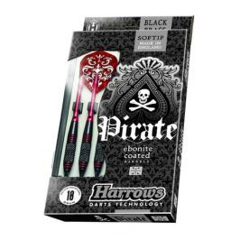 Šipky HARROWS Pirate softip 18g
