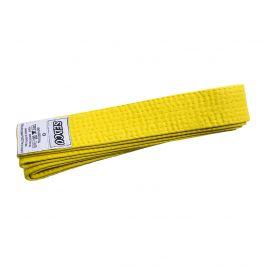 Pásek ke kimonu - velikost 0 - žlutý