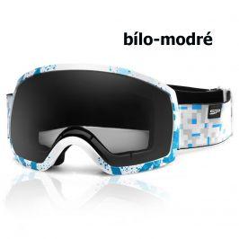 Lyžařské brýle SPOKEY Radium - bílo-modré