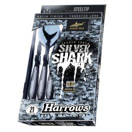 Harrows Steel Silver Shark 22g R