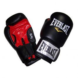 Boxerské kožené rukavice EVERLAST Moulded Ergo černé 10oz.