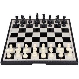 Šachy magnetické velké společenská hra v krabici 48x25x6cm