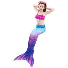 Kostým a plavky mořská panna MASTER Siréna - 130 cm