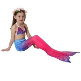 Kostým a plavky mořská panna MASTER Marína - 120 cm