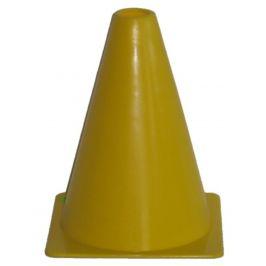 Fotbalový kužel - vel. 18 cm - žlutý