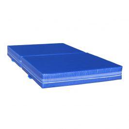 Dopadová skládací žíněnka MASTER T21 - 200 x 120 x 20 cm - modrá