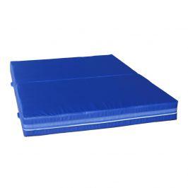 Dopadová skládací žíněnka MASTER T21 - 200 x 150 x 20 cm - modrá