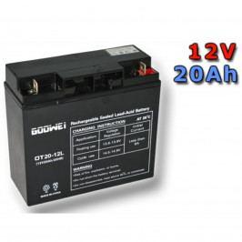 Trakční gelová baterie GOOWEI OTL20-12 20Ah