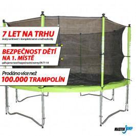 SET trampolína MASTERJUMP 365 cm + ochranná síť vnitřní