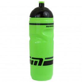 Cyklo láhev MAXBIKE 0,8 l se závitem - zelená