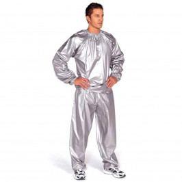 Sauna oblek EVERLAST PVC stříbrný - vel. L-XL