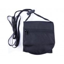 Spokey INTERCITY 3 Cestovní peněženka na krk černá 12,5 x 15 cm