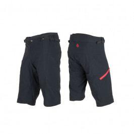 Kalhoty SENSOR Helium pánské černo-červené - vel. XL