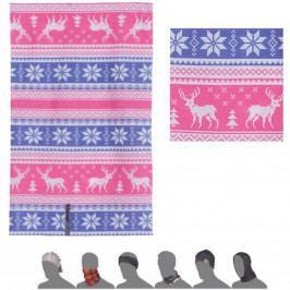 Šátek SENSOR Tube dětský Sobi multicolor
