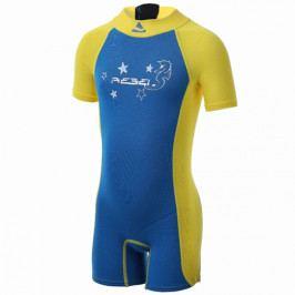 Dětský neopren Subgear SEAHORSE modrá-žlutá