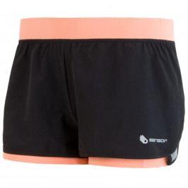 Sensor kalhoty krátké dámské Trail černo-meruňkové varianta: