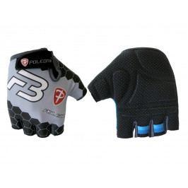 Cyklo rukavice POLEDNIK Pánské F3 bílo-černé, vel. XL