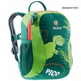 Dětský batoh DEUTER Pico 5 l - alpinegreen-kiwi