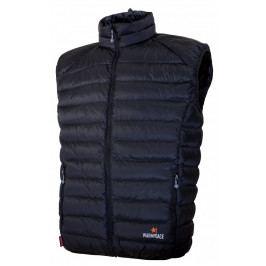 Pánská vesta Warmpeace Drake Velikost: L / Barva: černá