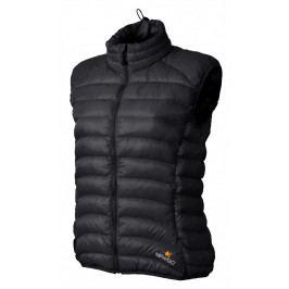 Dámská vesta Warmpeace Swan Lady Velikost: L / Barva: černá