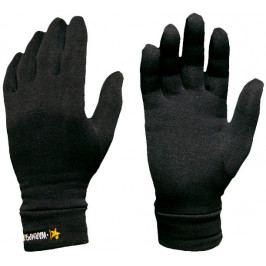 Rukavice Warmpeace Powerstretch Velikost: S/M / Barva: černá