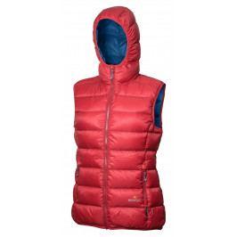 Dámská vesta Warmpeace Yuba Lady Velikost: XL / Barva: červená